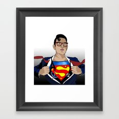 Superdoc Framed Art Print