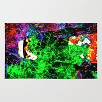 stormtrooper Area & Throw Rugs featuring Stormtrooper   by Saundra Myles