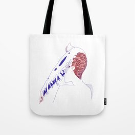 Death Dude Tote Bag