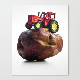 The Mutant Potatoe Canvas Print