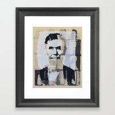 Abraham Lincoln (make-ready) Framed Art Print