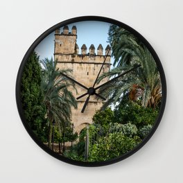 Mosque of Cordoba, Spain Wall Clock