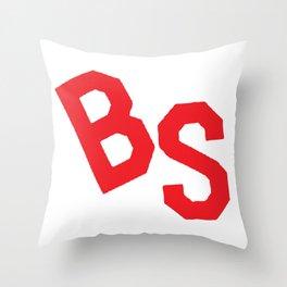 BS Tee Throw Pillow