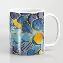 Abstract deep blue Coffee Mug