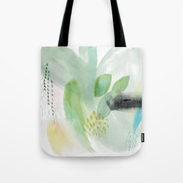 Summer Air Abstract Tote Bag