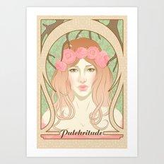 Pulchritude Art Print