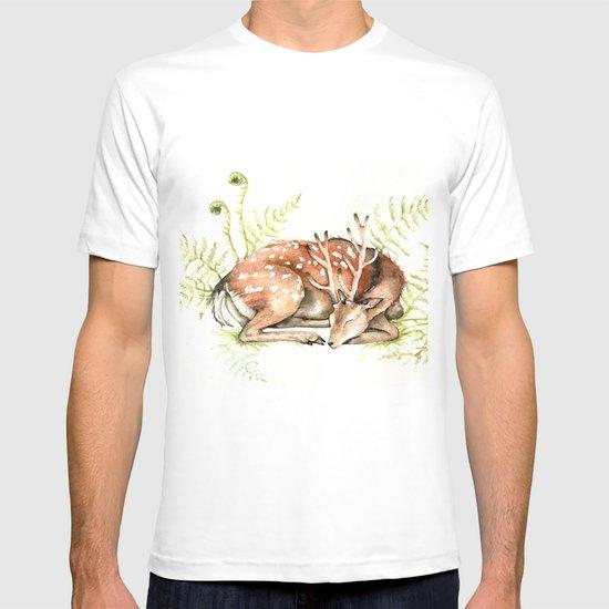 Sleeping Deer T-shirt