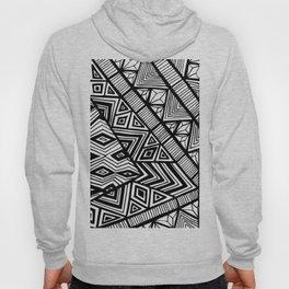 Original Geometric ink-pen print Hoody