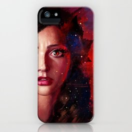 The impossible girl iPhone Case