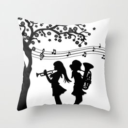 Hibike! Euphonium- A Duet Throw Pillow