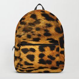 leopard pattern Backpack