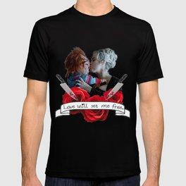 Chucky & Tiffany (Bride of Chucky) T-shirt