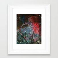 pixies Framed Art Prints featuring Pixies by Jessica Doerr