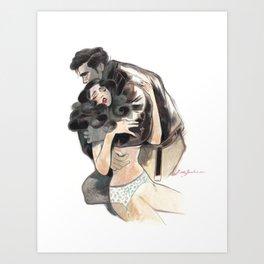 Confession V Art Print