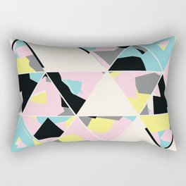 triangle no.3 / with love Rectangular Pillow