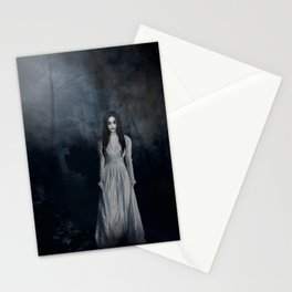 Ghost In The Mist Cristina Scabbia Inspired Artwork Stationery Cards