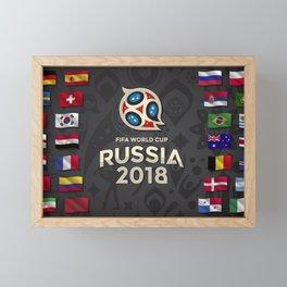 Russia 2018 Framed Mini Art Print