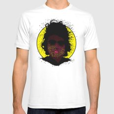 Bob Dylan, Naturally Mens Fitted Tee MEDIUM White