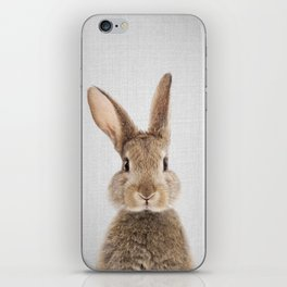 Rabbit - Colorful iPhone Skin