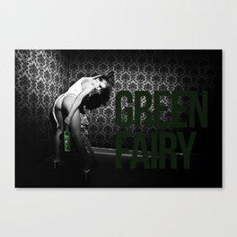 GREEN FAIRY V Canvas Print