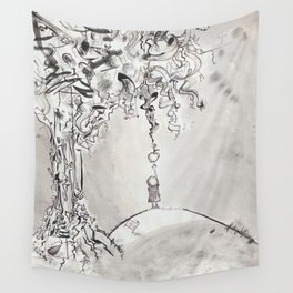 The Life of an Apple Seedling Wall Tapestry