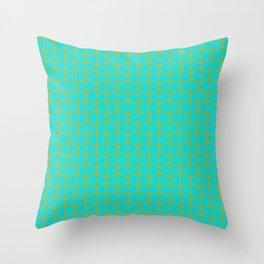 Turqoise Throw Pillow