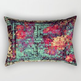 Indian Summer Colors Blanket Rectangular Pillow