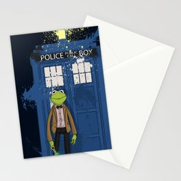 Doctor Who Kermit Stationery Cards