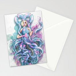 Octupus Dress Stationery Cards