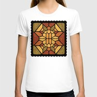 sacred geometry T-shirts featuring Sacred geometry - Voronoi by Enrique Valles