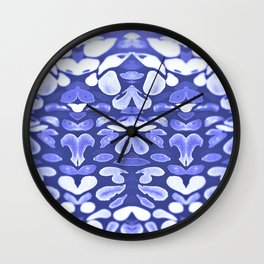 Winter is Coming, Cold Blue Winter Nights Are Coming Wall Clock