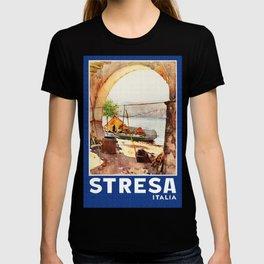 Vintage Stresa Italy Travel T-shirt