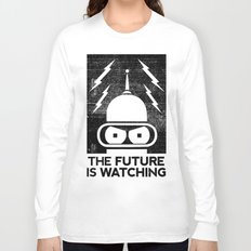 The Future Is Watching Long Sleeve T-shirt