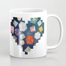 Heart of Dice Coffee Mug