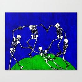 Dance, after Matisse Canvas Print