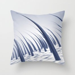 Hair growth Throw Pillow