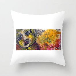 Brokenhearted Throw Pillow
