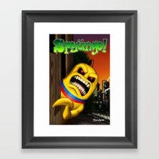 Spyüngo! #1 Framed Art Print