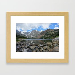Lake Isabelle in Colorado Framed Art Print