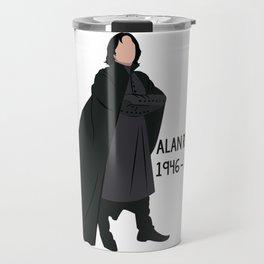 Alan Rickman Travel Mug