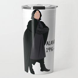 Alan Rickman Travel Mug