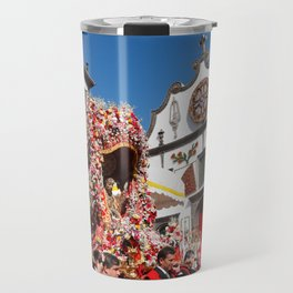 Religious festival in Azores Travel Mug