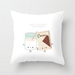 Fall in love - Ingredienti coraggiosi Throw Pillow