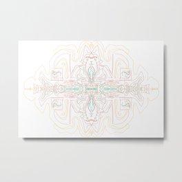 ELFDWARF Metal Print