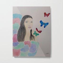 Butterflies of inspiration Metal Print