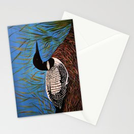 Loon on the Nest  Stationery Cards