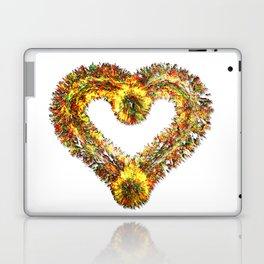 magma heart Laptop & iPad Skin