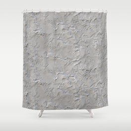 Stucco Cement Plaster Texture Shower Curtain