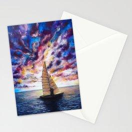 Marina Dreams  Sunset Stationery Cards