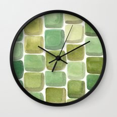#59. UNTITLED (Summer) - Stones Wall Clock